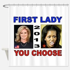 NEXT FIRST LADY Shower Curtain