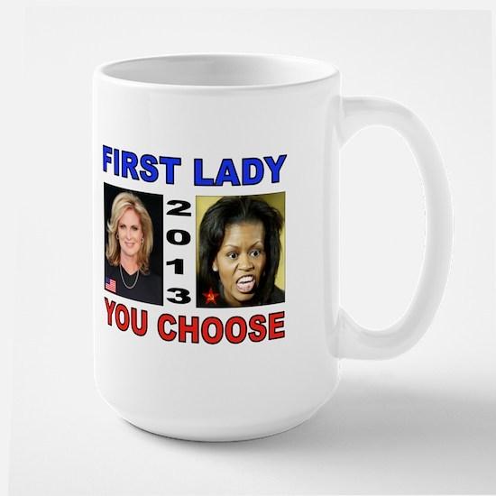 NEXT FIRST LADY Large Mug