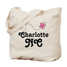 Charlotte North Carolina Tote Bag