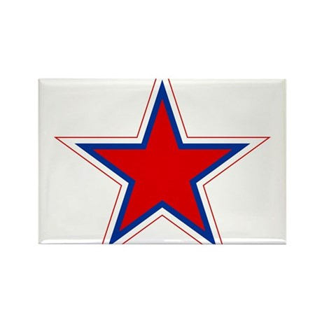 Russia Roundel Rectangle Magnet (100 pack)