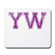 YW, Vintage Mousepad