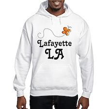 Lafayette Louisiana Butterfly Hoodie