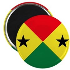 """Sao Tome And Principe Roundel 2.25"""" Magnet (10 pac"""