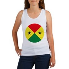 Sao Tome And Principe Roundel Women's Tank Top