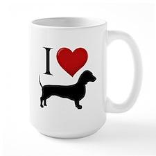 Dachshund - I Love Dachshunds Mug