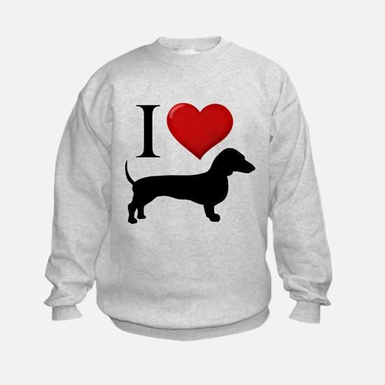 Dachshund - I Love Dachshunds Sweatshirt