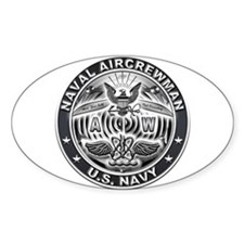 USN Naval Aircrewman AW Eagle Rate Decal