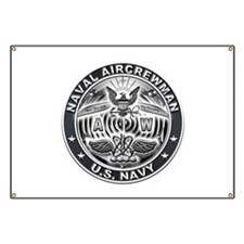USN Naval Aircrewman AW Eagle Rate Banner
