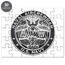USN Naval Aircrewman AW Eagle Rate Puzzle