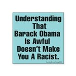 Obama is awful sticker