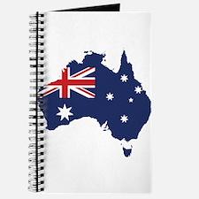 Flag Map of Australia Journal