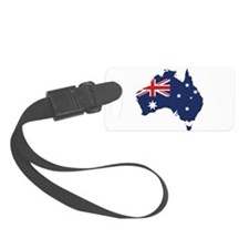 Flag Map of Australia Luggage Tag