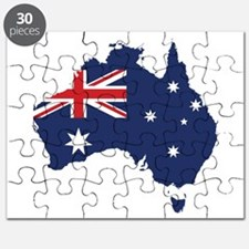 Flag Map of Australia Puzzle