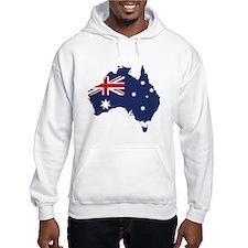 Flag Map of Australia Jumper Hoody