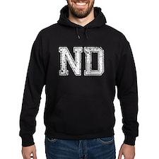 ND, Vintage Hoodie
