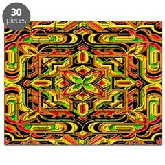 Colorful Mazes Puzzle