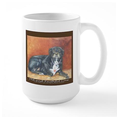 Old and Faithful Love Large Mug