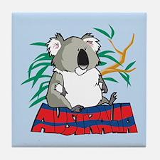 Australia Koala Tile Coaster