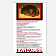 FATMOUSE Postcards (Package of 8)