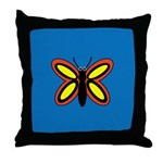 CALLA BUTTERFLY Throw Pillow