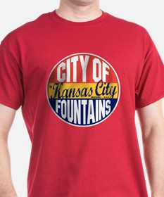 Kansas City Vintage Label T-Shirt
