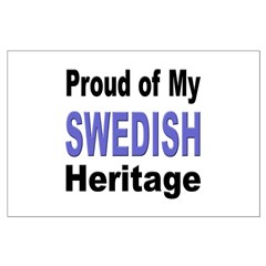 Proud Swedish Heritage Posters