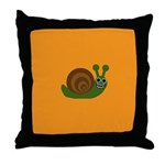 ETHEL SNAIL Throw Pillow