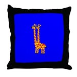 GUS & RUSS GIRAFFE Throw Pillow