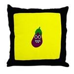 IGGY EGGPLANT Throw Pillow