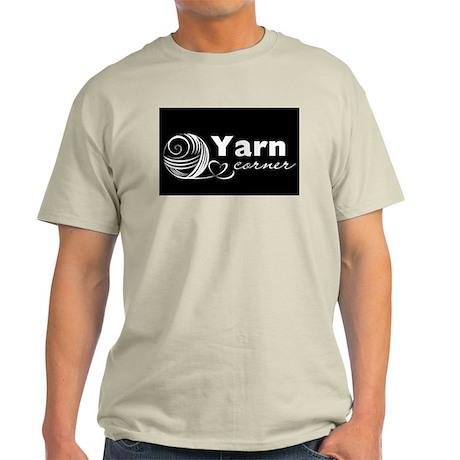 Yarn Corner logo Light T-Shirt
