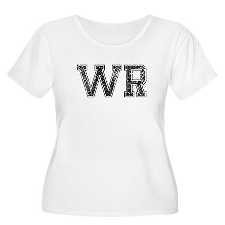 WR, Vintage Women's Plus Size Scoop Neck T-Shirt