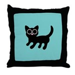PIXIE CAT Throw Pillow
