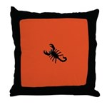 SEBASTIAN SCORPION Throw Pillow