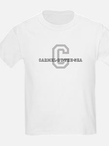 Carmel-By-The-Sea (Big Letter Kids T-Shirt