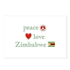 Peace Love and Zimbabwe Postcards (Package of 8)