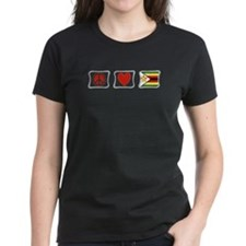 Peace Love and Zimbabwe Tee