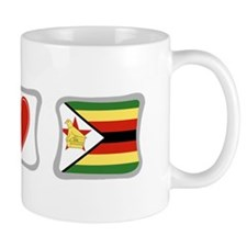 Peace Love and Zimbabwe Mug