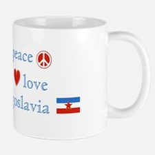 Peace Love and Yugoslavia Mug