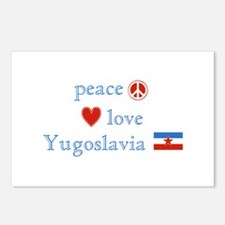 Peace Love and Yugoslavia Postcards (Package of 8)