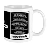 WAITS COO-COO W/BIO ON BACK Mug