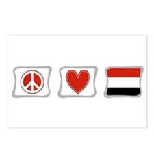 Peace Love and Yemen Postcards (Package of 8)