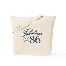 Fabulous at 86 Tote Bag