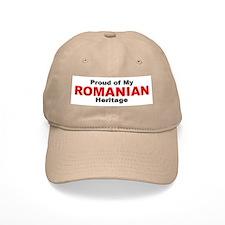 Proud Romanian Heritage Baseball Cap