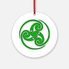 Celtic Spiral Ornament (Round)
