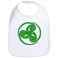 Celtic Spiral Bib