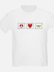 Peace Love & Virgin Islands T-Shirt