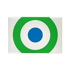 Sierra Leone Roundel Rectangle Magnet