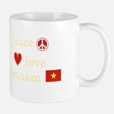 Peace Love and Vietnam Mug