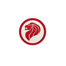 Singapore Lion Roundel Mini Button