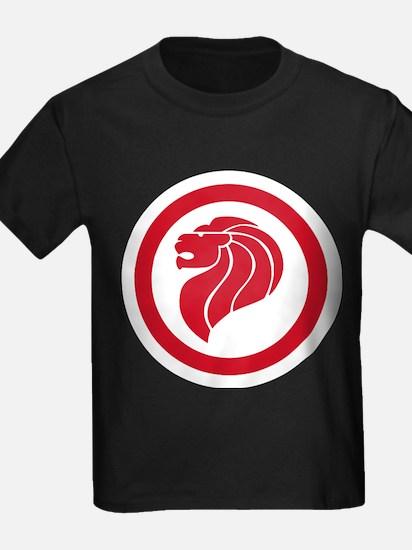 Singapore Lion Roundel T